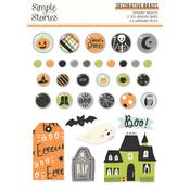 Spooky Nights Decorative Brads - Simple Stories