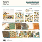 Simple Vintage Country Harvest Collector's Essential Kit - Simple Stories