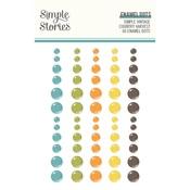 Simple Vintage Country Harvest Enamel Dots - Simple Stories - PRE ORDER