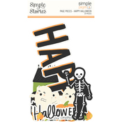 Simple Pages Page Pieces Happy Halloween - Simple Stories