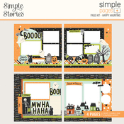 Simple Pages Page Kit Happy Haunting - Simple Stories