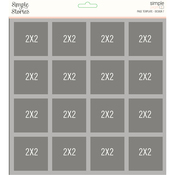 Design 7 Page Template - Simple Stories - PRE ORDER