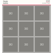 Design 8 Page Template - Simple Stories - PRE ORDER