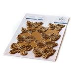 Small Butterflies Hot Foil Plate - Pinkfresh
