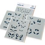 Small Butterflies Stencil - Pinkfresh