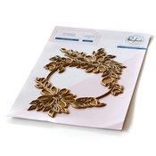 Daisy Wreath Hot Foil Plate - Pinkfresh