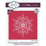 Background Layered Snowflake Craft Dies - Creative Expressions - PRE ORDER