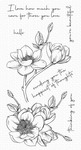 Magnolia Blossoms Clear Stamps - My Favorite Things