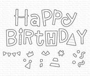 Happy Birthday Party Die-namics - My Favorite Things