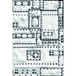Mini Foundry 3D Texture Fades Embossing Folder by Tim Holtz - Sizzix