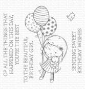 RAM Beautiful Birthday Girl Clear Stamps - My Favorite Things