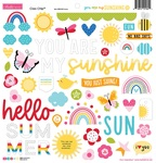 You Are My Sunshine Chipboard Icons - Bella Blvd