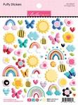 Oh Happy Day Puffy Stickers - Bella Blvd