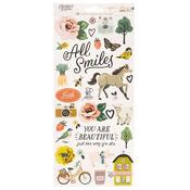 Market Square Sticker Sheet - Maggie Holmes