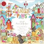 Sandy Paws 12 x 12  Paper Pad - Craft Consortium