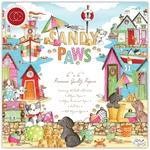 Sandy Paws 6x6 Paper Pad - Craft Consortium