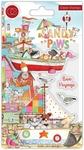 Bon Voyage Clear Stamps - Sandy Paws - Craft Consortium