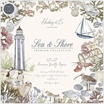 Sea & Shore Double-Sided 12 x 12 Paper Pad - Craft Consortium
