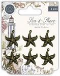 Star Fish Metal Charms - Sea & Shore - Craft Consortium