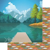 What A View Paper - Lake Life - Fancy Pants