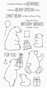 BB Birthday Bears Clear Stamps - My Favorite Things