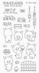 BB Hog Heaven Clear Stamps - My Favorite Things