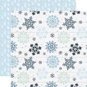 Sparkling Snow Paper - Winter - Echo Park