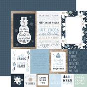 Multi Journaling Cards Paper - Winter - Echo Park
