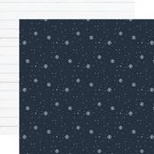 Snowflake Kisses Paper - Winter - Echo Park