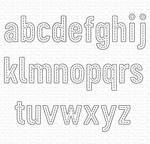 In Stitches Lowercase Alphabet Die-namics - My Favorite Things