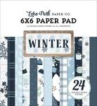 Winter 6x6 Paper Pad - Echo Park