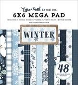 Winter Cardmakers 6X6 Mega Pad - Echo Park
