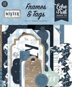 Winter Frames & Tags Ephemera - Echo Park