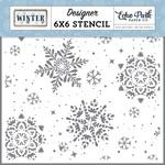 Snowy Stencil - Winter - Echo Park