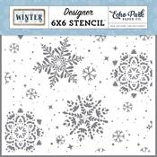 Snowy Stencil - Winter - Echo Park - PRE ORDER