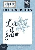 Let It Snow Die Set - Winter - Echo Park - PRE ORDER