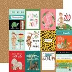 Journaling 3X4 Cards Paper - Animal Kingdom - Echo Park