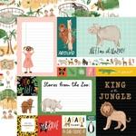 Multi Journaling Cards Paper - Animal Kingdom - Echo Park