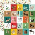 Alphabet Squares Paper - Animal Kingdom - Echo Park