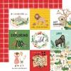 Journaling 4X4 Cards Paper - Animal Kingdom - Echo Park