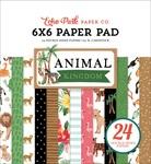 Animal Kingdom 6x6 Paper Pad - Echo Park