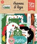 Animal Kingdom Frames & Tags Ephemera - Echo Park