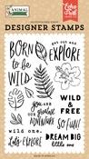 Born To Be Wild Stamp Set - Animal kingdom - Echo Park