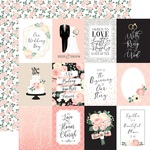Journaling 3X4 Cards Paper - Wedding - Echo Park - PRE ORDER