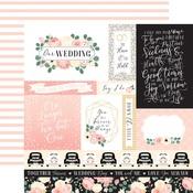 Journaling Cards Paper - Wedding - Echo Park