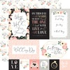 Multi Journaling Cards Paper - Wedding - Echo Park