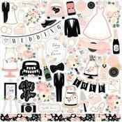 Wedding Element Sticker - Echo Park