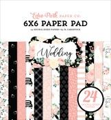Wedding 6x6 Paper Pad - Echo Park - PRE ORDER