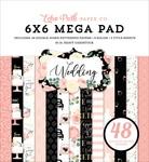 Wedding Cardmakers 6X6 Mega Pad - Echo Park