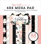 Wedding Cardmakers 6X6 Mega Pad - Echo Park - PRE ORDER